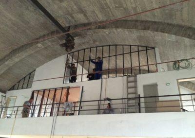 Cloison acier construction