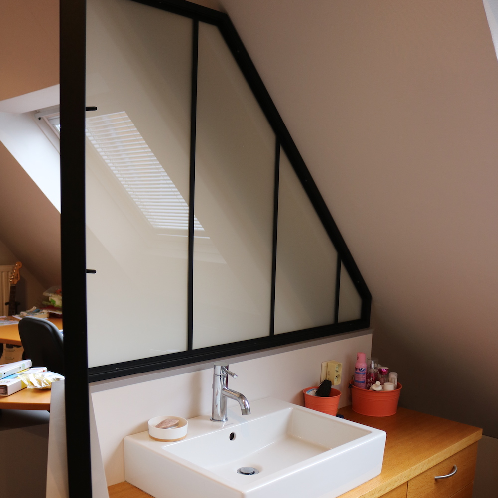 Cloison salle de bain