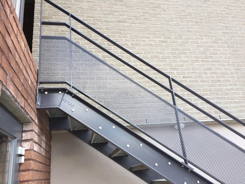 Escalier extérieur sur mesure