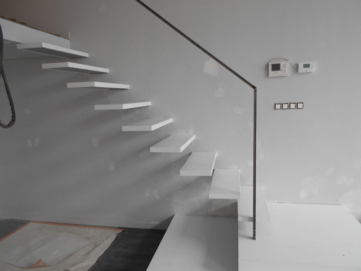 Escalier-flottant