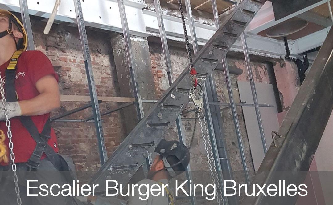 Escalier du Burger King