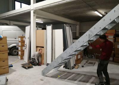 Escalier galvanisé sur mesure